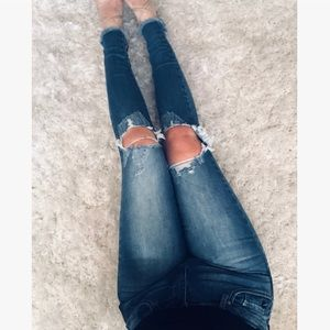 Denim - 🆕 Cindee Busted Knee Jeans